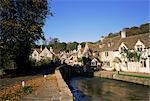 Village de Castle Combe, Wiltshire, Angleterre, Royaume-Uni, Europe