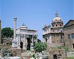 Le Forum, Rome, Site du patrimoine mondial de l'UNESCO, Latium, Italie, Europe
