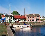 Kinvara village, baie de Galway, comté de Galway, Connacht, Eire (République d'Irlande), Europe
