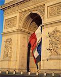 L'Arc de Triomphe, Paris, France, Europe