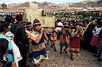 Inti Raymi festival, Cuzco, Peru, South America