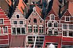 Architecture, Bruges, Belgium, Europe