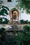 Palais de Mondragon, Ronda, Andalousie, Espagne, Europe