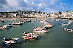 Port de St. Ives, St. Ives, Cornwall, Angleterre, Royaume-Uni, Europe