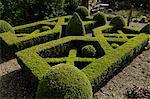A home-made knot garden, England, United Kingdom, Europe