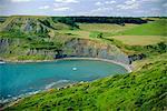 Piscine de Chapman, île de Purbeck, Dorset, Angleterre, UK