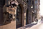 Art deco features and doorways, Helsinki, Finland, Scandinavia, Europe