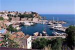 Le port, Antalya, Anatolie, Turquie, Asie mineure, Eurasie