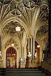 État entrée, Chambre des Lords, maisons du Parlement, Westminster, Londres, Royaume-Uni, Europe