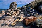 Fishing equipment, Isles of Scilly, United Kingdom, Europe