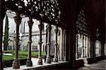 Grand cloître, monastère de Batalha, patrimoine mondial de l'UNESCO, Batalha, Estremadura, Portugal, Europe