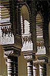 Détail, Cour de la Lions, Alhambra UNESCO World Heritage Site, Grenade, Andalousie (Andalousie), Espagne, Europe