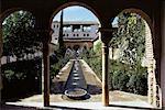 Le Generalife, Alhambra, UNESCO World Heritage Site, Grenade, Andalousie, Espagne, Europe