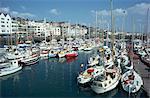 Harbour, St. Peter Port, Guernsey, Channel Islands, United Kingdom, Europe