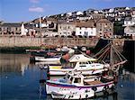 Porthleven harbour, Cornwall, England, United Kingdom, Europe
