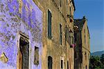 Architectural close-up in Penta di Casinca, Castagniccia Region, Corsica, France, Europe
