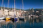 The harbour, Bastia, Corsica, France, Mediterranean, Europe