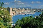Vieux Port, Marseille, Bouches du Rhône, Provence, France