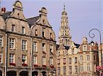 Grand Place, Arras, Artois région Nord Pas de Calais, France, Europe