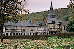 Le Bec Hellouin, Haute Normandie (Normandy), France, Europe