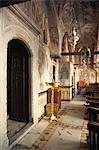 Kirche, Kloster St. John, Patmos, Dodecanese, griechische Inseln, Griechenland, Europa