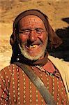 Portrait of Berber shepherd, Morocco, North Africa, Africa, Africa