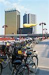 Flame d'Or Building, architectur Philip Stark, Shinju-ku area, Tokyo, Japan, Asia