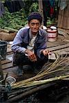 Elderly man, Thailand, Southeast Asia, Asia