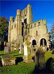 12ème siècle abbaye fondée par le roi David en 1128, Kelso, Scottish Borders, Ecosse