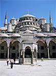 Blue mosquée (mosquée du Sultan Ahmet), patrimoine mondial de l'UNESCO, Istanbul, Turquie, Europe, Eurasie