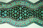 Anciennes tuiles dans Karatay Medrese, Museum of Ceramic Art, Konya, Anatolie, Turquie, Asie mineure, Eurasie