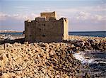 Paphos château, Kato Paphos, Chypre, Europe