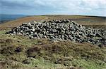 Iron Age burial mound, Black Hill, near Haytor, Dartmoor National Park, Devon, England, United Kingdom, Europe