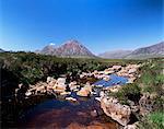 Bauchaille Etive, Glencoe, Highland region, Scotland, United Kingdom, Euorpe