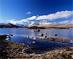 Lochan na H-Achlaise, Rannoch Moor, Strathclyde, Scotland, United Kingdom, Europe