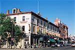 Historic buildings, Victoria, British Columbia, Canada, North America