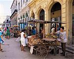 Street market, Old Havana, Havana, Cuba, West Indies, Central America