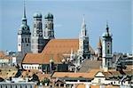 Cityscape of Munich, Bavaria, Germany