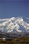 Bus tour @ Stony Point Mt McKinley Denali National Park Alaska