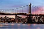 Triborough Bridge, Manhattan, New York, New York, USA