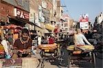 Straßenszene in Amritsar, Punjab, Indien