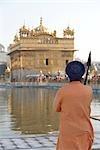 Man at Golden Temple, Amritsar, Punjab, India
