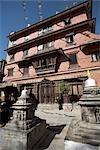 Kathesimbhu Stupa, Katmandou, Népal