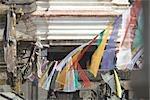 Prayer Flags at Monkey Temple, Kathmandu, Nepal