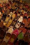 Gros plan des chaussures, Fort de Mehrangarh, Jodhpur, Rajasthan, Inde
