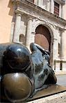 La Gorda statue by Botero,Iglesia de Santo Domingo,Plaza Santo Domingo,Cartagena,Colombia