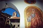 Mosaic,Kykkos Monastery,Marathasa area,Cyprus