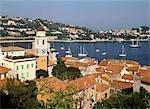 Ville Franche town and harbour,Cote D'Azur  france