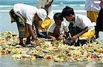 Enfants an balinais, Bali, Indonésie.
