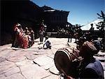 Festival célébrant un dieu hindou, Himachal Pradesh, Inde